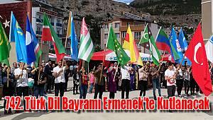 Türk Dil Bayramı Ermenek'te kutlanacak