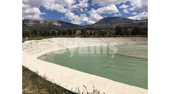 Ermenek Barajı su seviyesi en yüksek seviyesinde