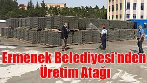 Ermenek Belediyesi'nden üretim atağı