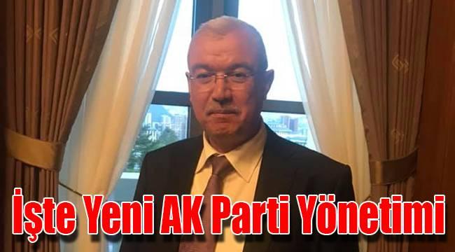 İşte Yeni AK Parti Yönetimi