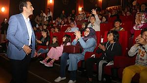 Karaman Belediyesinden annelere sinema etkinliği