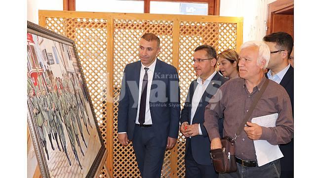 Karaman'da 100. yıla özel sergi