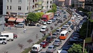 Karaman'da araç sayısı arttı