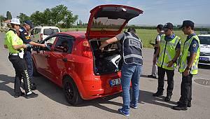 Karaman'da bayram öncesi trafik denetimleri arttı