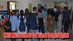 Karaman'da Milli Mücadelede Tek Yürek sergisi açıldı