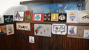 Karaman'da özel çocuklardan özel sergi