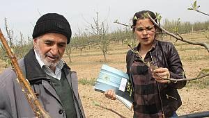 Karaman'da tarım danışmanı sahaya indi