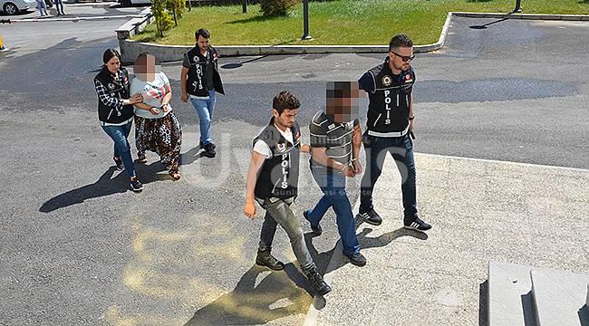 Karaman'da uyuşturucu satıcıları tutuklandı