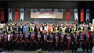 Kazımkarabekir'de mezuniyet coşkusu