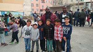 Mülteci öğrencilere gezi düzenlendi