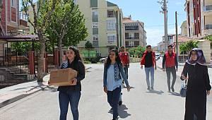 Öğrencilerden anlamlı ramazan yardımı