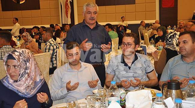 Palmiye Bisküvi Ailesi iftar yemeğinde Biraraya geldi