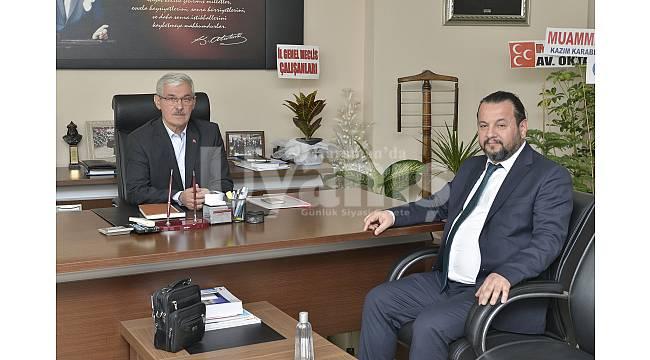 Rektör Akgül'den Adem Kapar'a Ziyaret