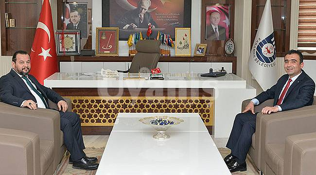 Rektör Akgül'den Başkan Kalaycı'ya Ziyaret