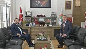 Rektör Akgül'den Başkan Zorlu'ya Ziyaret