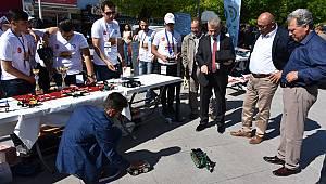 Robot teknolojileri bilim fuarında sergileniyor