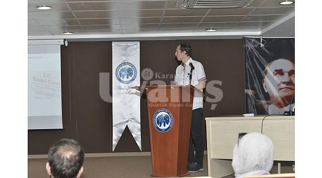 Sağlıkçı adaylarının eğitim seminerleri devam ediyor
