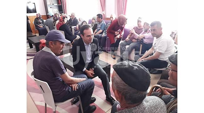 TRSM'den huzurevi sakinlerine bayram ziyareti