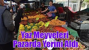 Yaz meyveleri pazarda yerini aldı: İşte fiyatlar!