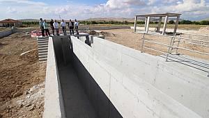 Atık Su Arıtma Tesisi'nde mimari kısım tamamlandı
