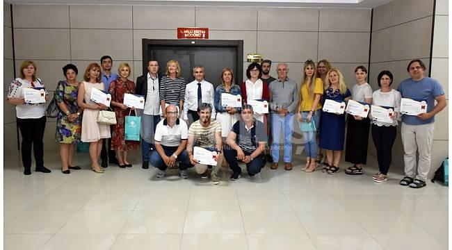 Avrupalı eğitimcilerden Karaman'a ziyaret