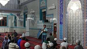 Camilerde ilk yardım eğitimi veriliyor