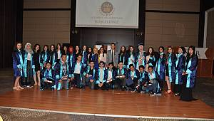 Envar Koleji'nde mezuniyet heyecanı