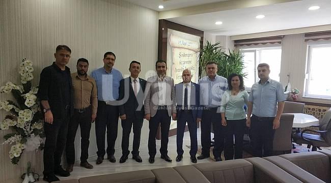İyi Parti Karaman Yönetiminden Kalaycı'ya ziyaret