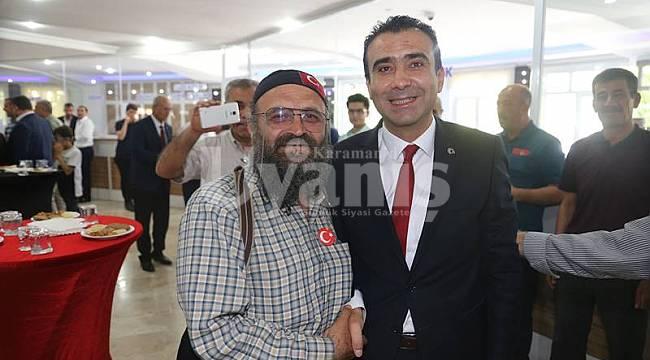 Karaman Belediyesi'nde bayramlaşma programı düzenlendi