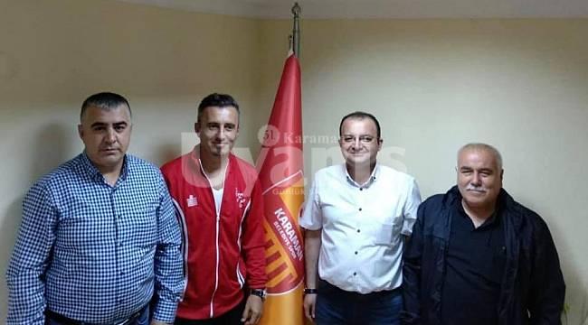 Karaman Belediyespor'a yeni teknik direktör