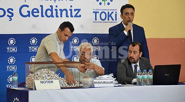 Karaman'da 380 konut için kuralar çekildi