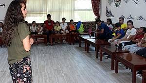 Karaman'da bağımlılıkla mücadele semineri