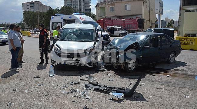 Karaman'da feci kaza: 6 yaralı!