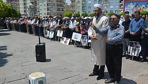 Karaman'da Mursi için gıyabi cenaze namazı kılındı