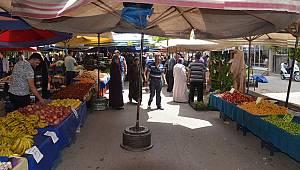 Karaman'da semt pazarında fiyatlar normale döndü