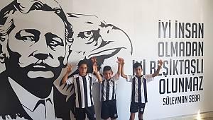Karamanlı sporcular Beşiktaş seçmelerinde
