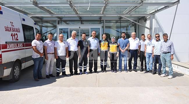 Kazımkarabekir Hastanesini ziyaret ettiler