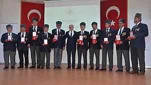 Kıbrıs Gazilerine madalyaları verildi