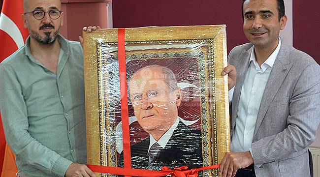 MHP İl Teşkilatı Başkan Kalaycı'yı ziyaret etti