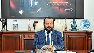 Rektör Akgül'den kutlama mesajı
