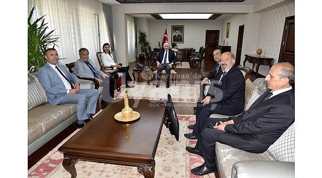 Satranç Federasyonu Başkanından Vali Meral'e Ziyaret