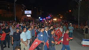 Ayrancı'da 15 Temmuz Demokrasi Ve Milli Birlik Günü Coşkusu