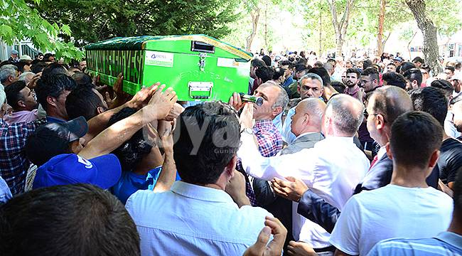 Barajda boğulan gencin cenazesi toprağa verildi