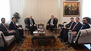 Eser'in Ankara mesaisi yoğun başladı