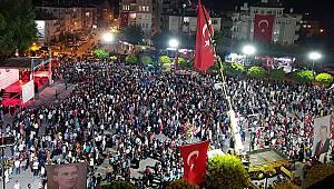Karaman 15 Temmuz'un yıldönümünde meydanlarda