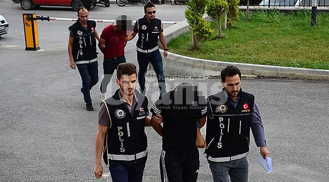 Karaman'da 2 kişi adliyeye sevk edildi