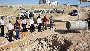 Karaman'da alt yapı çalışmaları devam ediyor