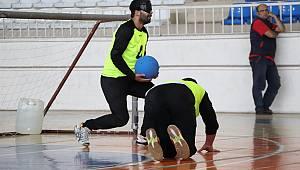 Karaman'da Goalball Heyecanı Başladı