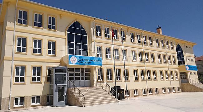 Karaman'da iki yeni okul daha açıldı