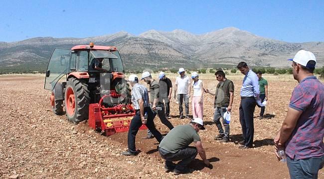 Karaman'da taşlar KOP'la toprağa dönüşüyor projesi